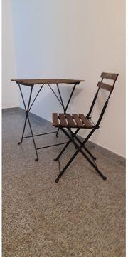 Balkontisch Stuhl