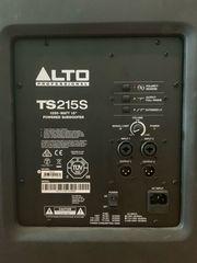 Alto TS 215 Subwoofer