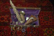 Altsaxofon Henri Selmer Vintage Versilbert