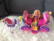 Barbie Mattel DPY38 Regenbogen Prinzessin