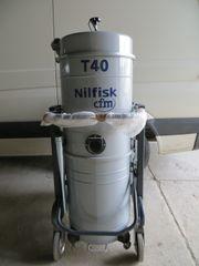 NILFISK CFM T40 L100 NASS-TROCKENSAUGER INDUSTRIESAUGER