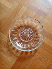 Glasschale Durchmesser 13 cm