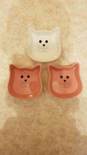 Näpfe aus Porzellan für Katzen