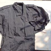 Mantel Staubmantel dünn schwarz Größe