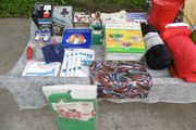 Camping Campingzubehör Moskitonetz Hängeregal Müllständer