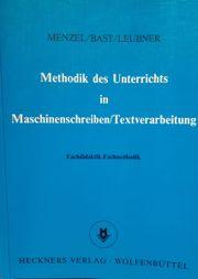 Methodik des Unterrichts in Maschinenschreiben