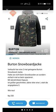 Burton Snowboard Jacke