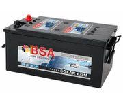 BSA AGM 230Ah Solarbatterie