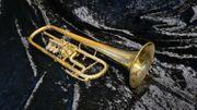 deutsche Konzerttrompete Drehventile inkl Koffer