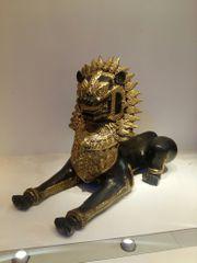 Messingfigur aus Thailand China 25cm