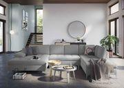 Sofa Latigo Myhomelando Grau Struktur
