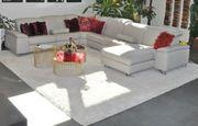 Leder Couch Eckkombi mit elektr