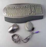 Microsoft Funktastatur Maus