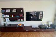 Hochwertige Wohnwand Designermöbel