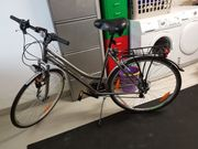 Fahrrad bronze RH 53