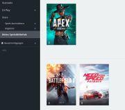 Origin Acc mit 3 Spiele