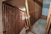 5m³ großer Kellerraum in zentraler