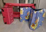 Hauck Kinderreisebett Reisebett und Matratze