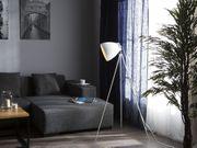 Stehlampe weiß 128 cm TAMEGA