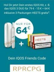 15 Euro Gutscheincode RPRCPG IQOS
