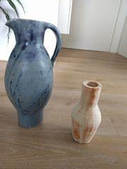 2 Töpfer Vasen
