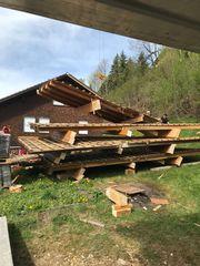 Brennholz Dachstuhl