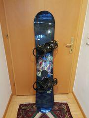 Snowboard 148cm mit Burton Bindung