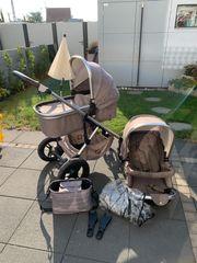 Kinderwagen Moon Nuova Brown Melange