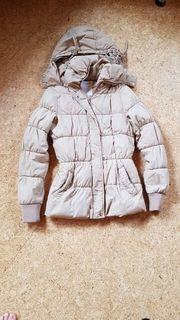Damen Winterjacke beige