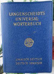 2 Französisch-Wörterbücher Spanisch-Wörterbuch