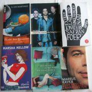 6 Bücher tolle Unterhaltungs - Lektüre