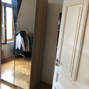 Pax Schrank Kleiderschrank mit Spiegeltüren