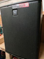 2x Electro Voice ELX-118P - Aktiver