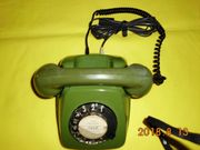 Wählscheibentelefon POST FeTAp 611-2a Grün