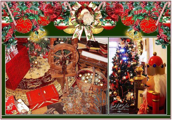 Nostalgische Event Weihnachtsdekorationen antike Weihnachts-Lounge