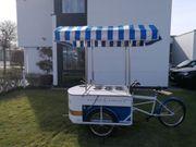 Eisfahrrad Eisstand mobiler Eisstand