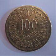 TUNESIEN Münze 1960 1380 100