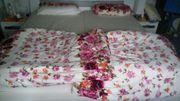 Verkaufe Bett weiß inklusive Rost