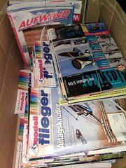 Flug Modell Hefte Fachzeitungen über