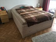 Holzbett weiß 200cm x 160