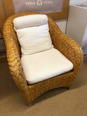 Rattan Sessel Lounge Chair mit