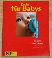 NEU - Koch-Buch Kochen für Babys -