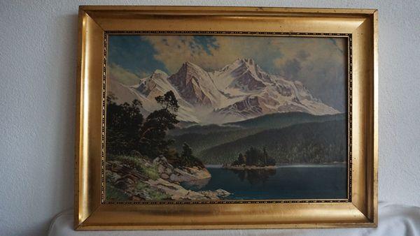 Landschaftsbild von K Voboril
