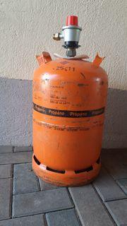 Spanische Gasflasche
