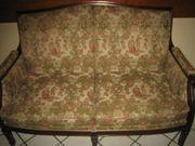 altes 2 Sitzer Sofa Jugendstil
