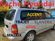 Suche Hyundai TRAJET ATOS ACCENT