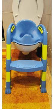 Toilettentrainer mit Treppe Kinder Kindertoilette WC Sitz Lerntöpfchen Toiletten