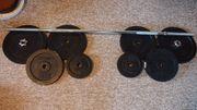 V3Tec Langhantel Gewichte Powerlifter Set