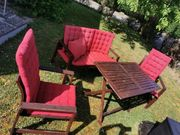 Gartenmöbel Tisch Bank Sessel Stuhl