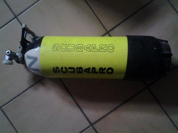 Tauchflasche aus Stahl